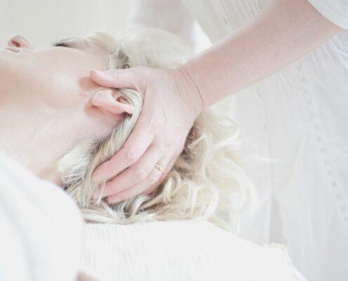 Massage ansigt hovedbund Tina Gregersen Hillerød
